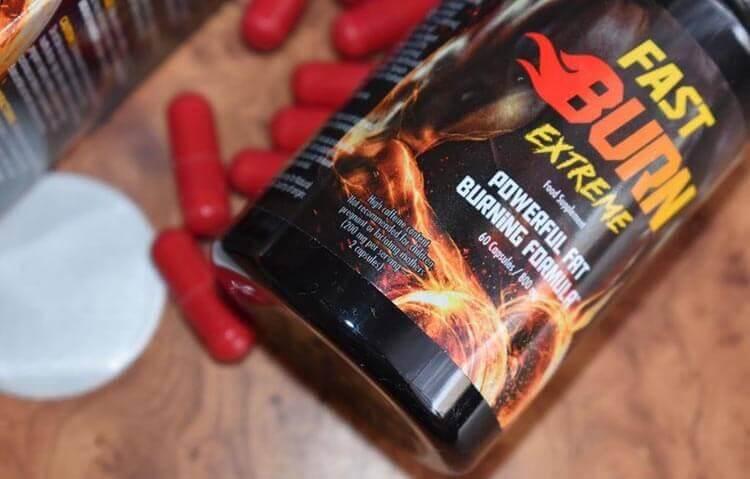 Qual è la composizione di Fast Burn Extreme